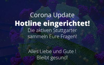 Aktive Stuttgarter richten Corona Hotline ein!